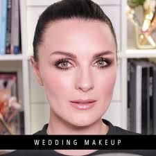 bridal makeup tutorial wedding makeup tutorial the look