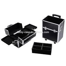 Vanity Makeup Box Hairdressing Tool Case Vanity Case Trolley Beauty Cosmetic Box