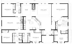 4 Bedroom Floor Plans For A House 40x60 Barndominium Floor Plans Google Search House Plans