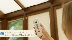 remote control conservatory blinds youtube