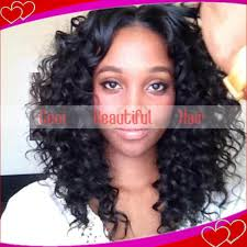 short loose wave hairstyle african american bob wigs short human hair wigs with baby hair