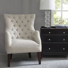 Blue Velvet Wingback Chair The Dar Home Co Steelton Button Tufted Wingback Chair Reviews In