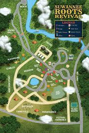 Festival Map Festival Map Suwannee Roots Revival