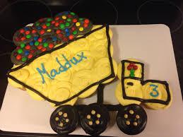 Pull Apart Halloween Cupcake Cakes Dump Truck Cupcake Cake Our Custom Cakes Pinterest Dump