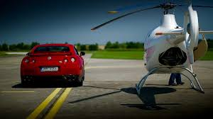 nissan gtr youtube top gear guimbal cabri g2 helicopter vs nissan gt r youtube
