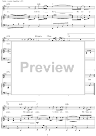 Chandelier Sia Piano Sheet Music Amazing Grace My Chains Are Gone Sheet Music For Piano And