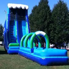 Backyard Water Slide Inflatable by Water Slide Rentals In Ct Funtastic Inflatables 2017
