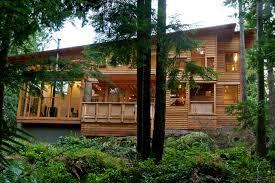 forest house bowen island contemporary exterior vancouver