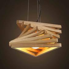 Wooden Pendant Lights Creative Design L Spiral Wood Pendant Lights Wooden Hanging