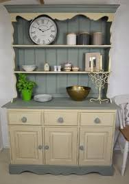 welsh dresser painted in country grey u0026 old white sale 300 chic
