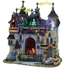 lemax spooky town lemax spooky town sights sounds lemax frankenstein s