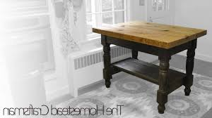 kitchen island reclaimed wood kitchen island intended for