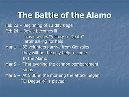 the battle of the alamo chapter 10 section 1 ppt video online