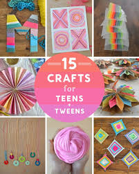 14 crafts for and tweens garlands yarns and