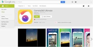 camera360 ultimate for android popular android app camera360 ultimate leaks sensitive user