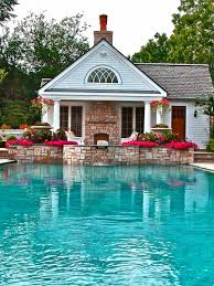 modern pool house plans with living quarters goodhomez com the new swimming pool interior design large size alluring second storey french country house with brick wall also photos