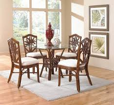 orange dining room chairs dining room extraordinary wicker table chairs wicker dining