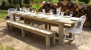 Wooden Outdoor Tables Modern Reclaimed Wood Outdoor Furniture Home Designing The