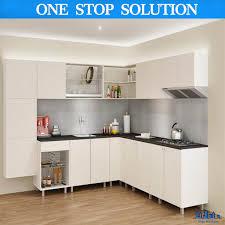 armoire de cuisine stratifié forme de l modernes de style armoire de cuisine uv stratifié photo