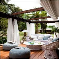 Patio Backyard Ideas by Outdoor Patio Curtains Ideas Home Design Ideas And Pictures