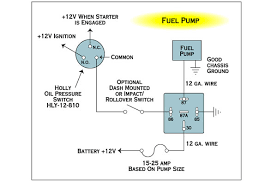electrical wiring fuel pump with relay and toggle the h a m b