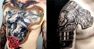 forearm tattoo designs of armor pictures to pin on pinterest