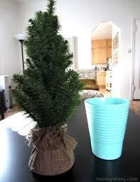 beautiful mini tree in mint pot diy rhinestone polka dot ornaments