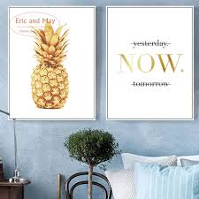 Pineapple Home Decor Online Get Cheap Pineapple Canvas Aliexpress Com Alibaba Group