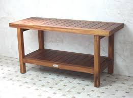 Outdoor Shower Bench Extra Long Vintage Farmhouse Bench With Zebra Cushion Forsythextra