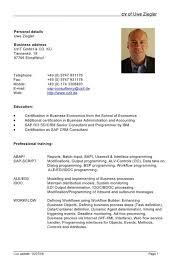 Resume Templates Doc German Resume Template 25 Best Creative Cv Template Ideas On
