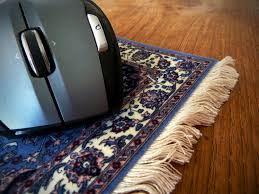 Persian Rug Mouse Mat by Mouse Rug Mouse Buddys Carpet
