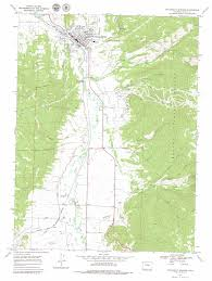 Colorado Map Us by Steamboat Springs Topographic Map Co Usgs Topo Quad 40106d7