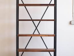 bookshelves metal furniture industrial bookcase style options awesome industrial