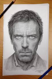 dr house pencil drawing by atomiccircus deviantart com on
