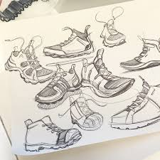 knocking off the rust with some shoe sketches sketchaday shoes