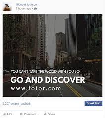 facebook post u2013 design facebook post online for free fotor photo