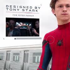 Tony Stark Halloween Costume Marvel Reveals Tech Upgrades Spider Man U0027s Costume