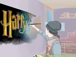 How To Create A Harry Potter Bedroom  Steps With Pictures - Harry potter bedroom ideas