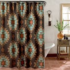Western Drapery Southwest Shower Curtains For The Home House Future And Westerns