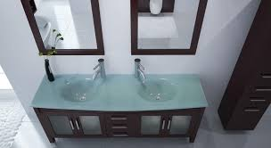 Glass Bathroom Vanity Vanity Ideas Marvellous Glass Top Vanity Tempered Glass Vanity