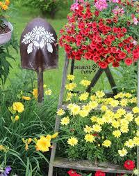 Upcycled Garden Decor 84 Best Budget U0026 Upcycled Garden Ideas Images On Pinterest