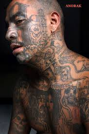 anorak in photos the tattooed faces of ms 13 and 18th street