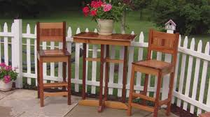 dining room awesome bistro table set with wood tall chairs and