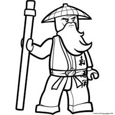 sensei ninjago sf812 coloring pages printable
