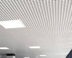controsoffitto alluminio controsoffitto grigliato
