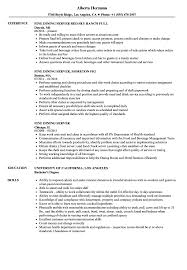 server resume template dining server resume sles velvet