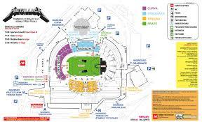 ingressi juventus stadium metallica la piantina dello stadio di udine