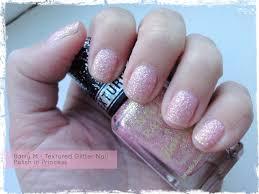 barry m u2013 textured glitter nail paint in princess beauty best