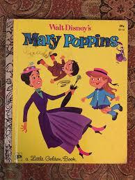 walt disney u0027s mary poppins 1973 2nd printing golden book