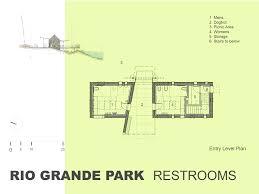 rio grande park restrooms